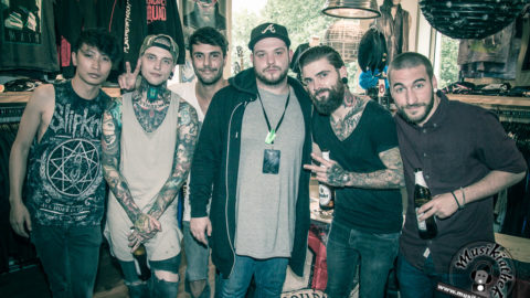 Fotos: To The Rats And Wolves – Autogrammstunde EMP Store Essen – 12.08.2016