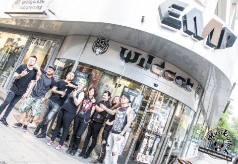 Fotos: Any Given Day – Autogrammstunde EMP Store Essen – 1.9.2016