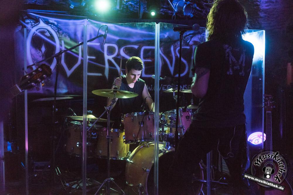 Fotos: Oversense - Aeon of Senses 01.10.2016 - B-Hof Würzburg
