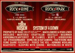 Rock am Ring 2017 - Vorverkaufsstart - Tickets