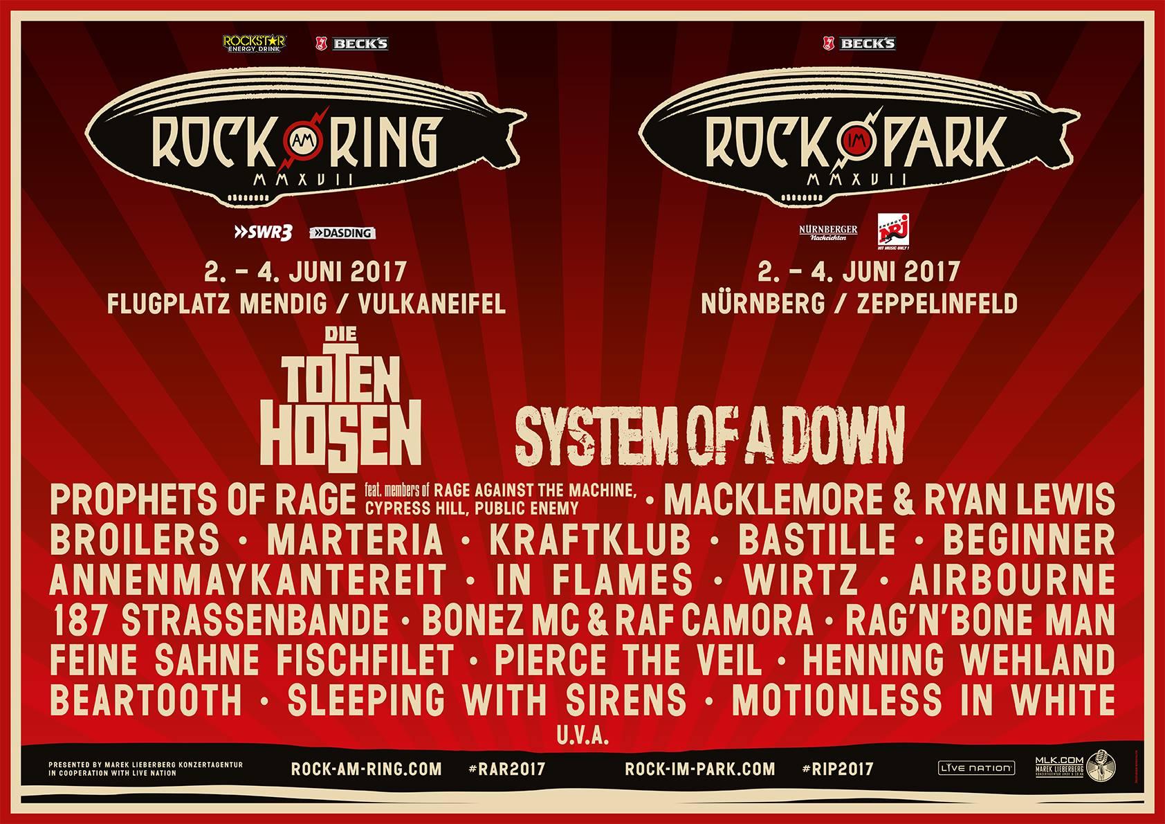 Toten Hosen Rock Am Ring 2021