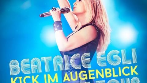 """Beatrice Egli """"Kick im Augenblick"""" Live CD/DVD – ab sofort vorbestellen"""