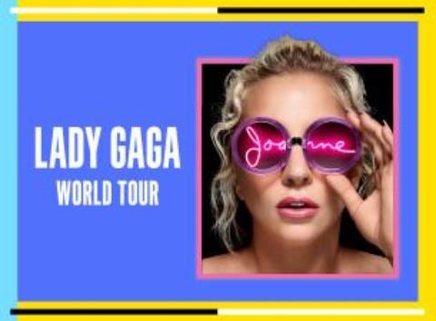 Lady Gaga auf Joanne World Tour / Tickets für Konzerte in Zürich, Hamburg, Berlin und Köln