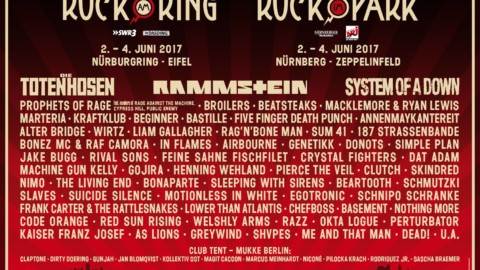 Rock am Ring / Rock im Park 2017