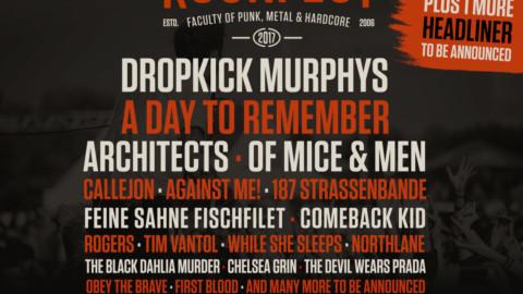 VAINSTREAM 2017 – Neue Bands bestätigt – A Day To Remember, Dropkick Murphys, Architects und viele mehr
