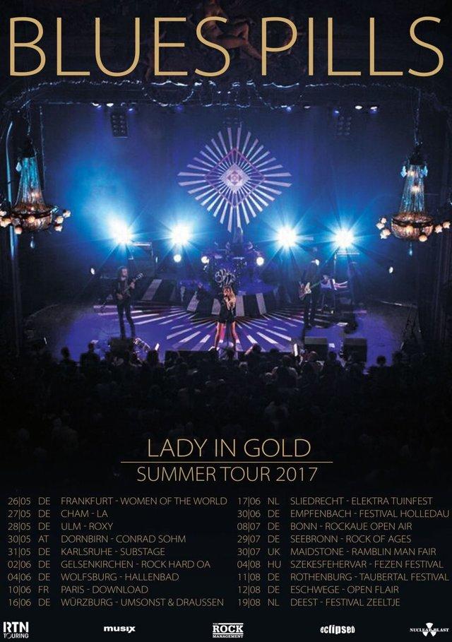 bluespills 2017tour - BLUES PILLS - kündigen Sommer-Tour an
