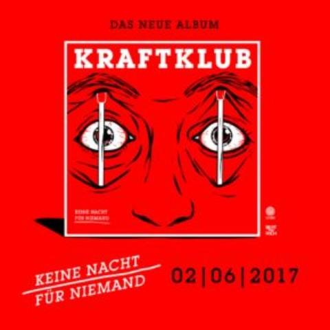 """Kraftklub – """"Keine Nacht für Niemand"""" Tour 2017"""