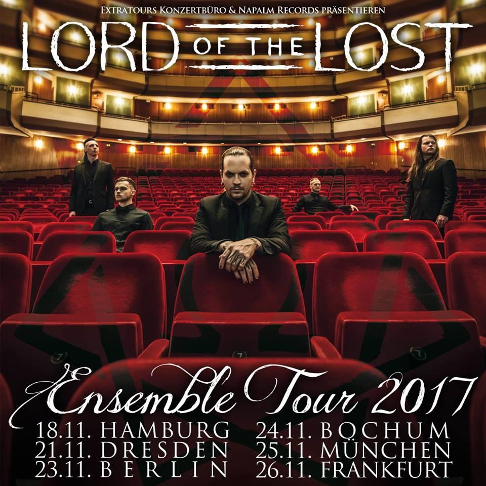 Lord Of The Lost geben Ensemble Tour für November 2017 bekannt