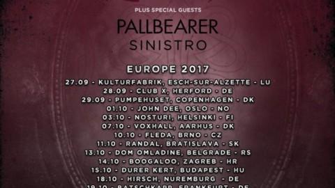PARADISE LOST – verkünden Europa-Tour