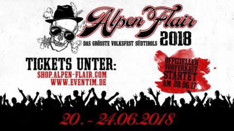 Alpen Flair 2018 – Sichert euch jetzt vergünstigte Early Bird Tickets!