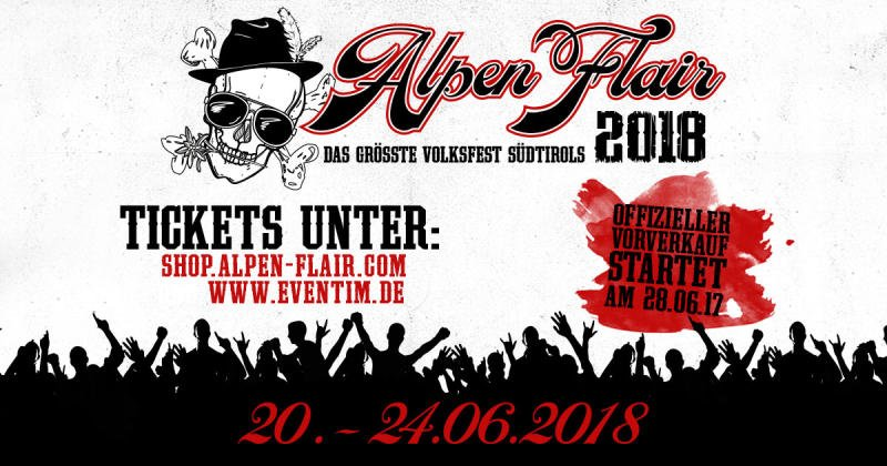 Alpen Flair 2018 - Sichert euch jetzt vergünstigte Early Bird Tickets!