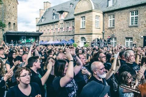Live: Castle Rock mit The Dark Tenor, Darkhaus, Serenity, Maerzfeld 30.06.2017