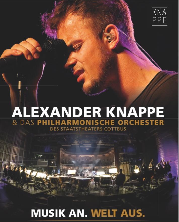 """alexander knappe tour - Alexander Knappe auf """"Musik an. Welt aus!"""" Tour 2017"""