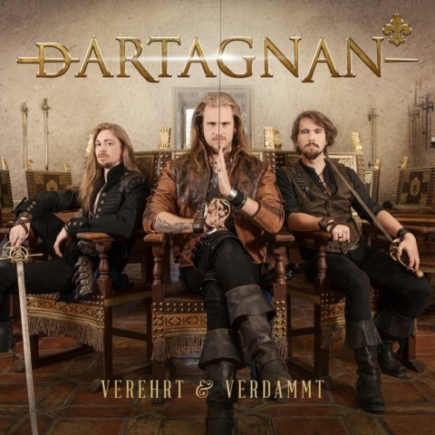 """dArtagnan mit """"Verehrt & Verdammt"""" auf Platz 11 der Albumcharts!"""
