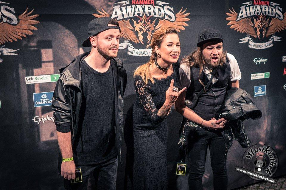 Schwarzer Teppich - Metal Hammer Awards - 15.09.2017-11
