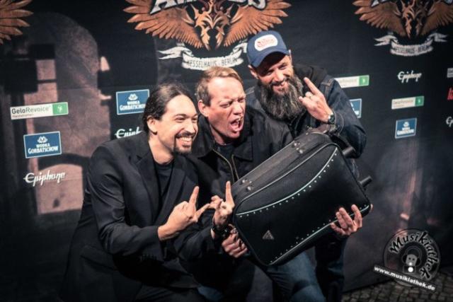 Schwarzer Teppich - Metal Hammer Awards - 15.09.2017-14