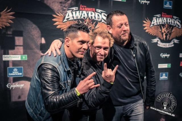 Schwarzer Teppich - Metal Hammer Awards - 15.09.2017-15
