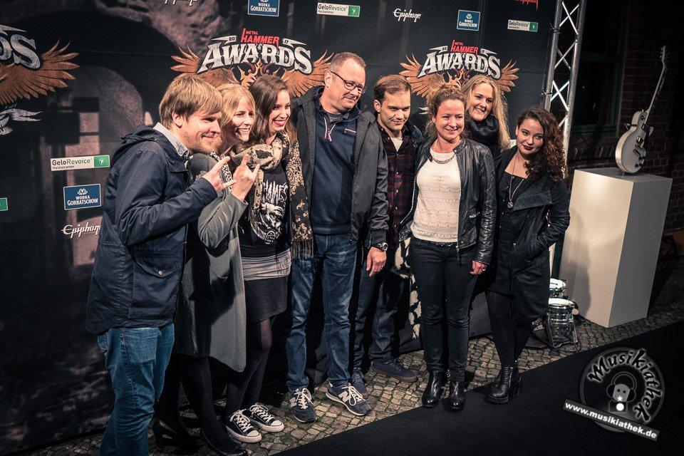Schwarzer Teppich - Metal Hammer Awards - 15.09.2017-17