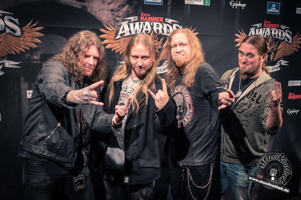 Schwarzer Teppich - Metal Hammer Awards - 15.09.2017-18