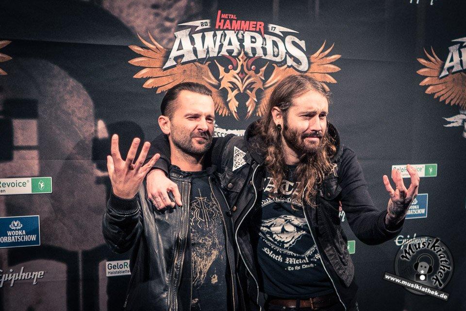 Schwarzer Teppich - Metal Hammer Awards - 15.09.2017-19