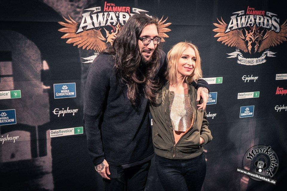 Schwarzer Teppich - Metal Hammer Awards - 15.09.2017-20