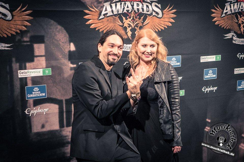 Schwarzer Teppich - Metal Hammer Awards - 15.09.2017-22