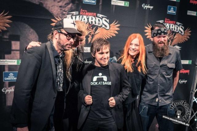 Schwarzer Teppich - Metal Hammer Awards - 15.09.2017-29