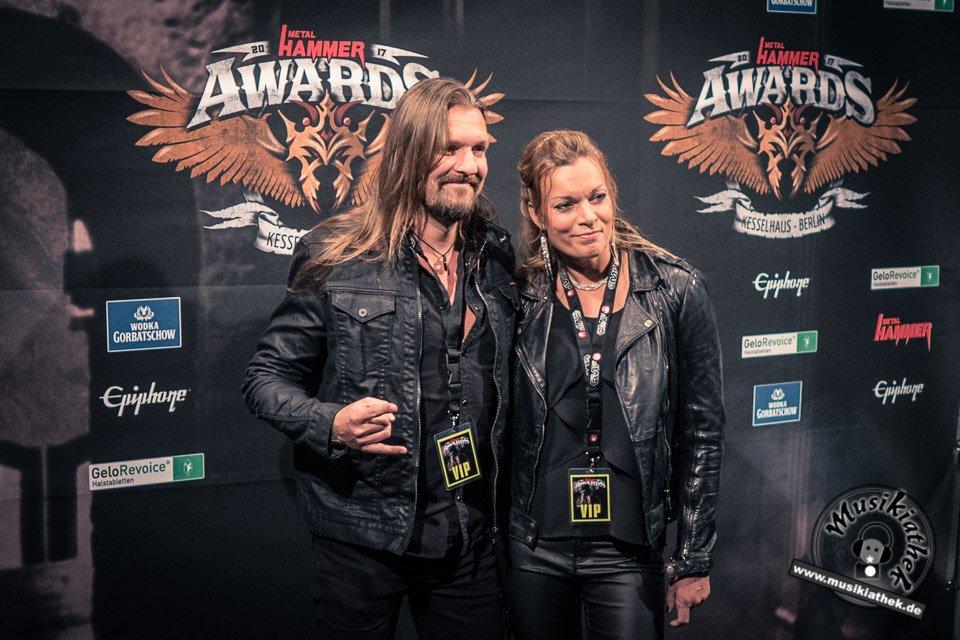 Schwarzer Teppich - Metal Hammer Awards - 15.09.2017-3