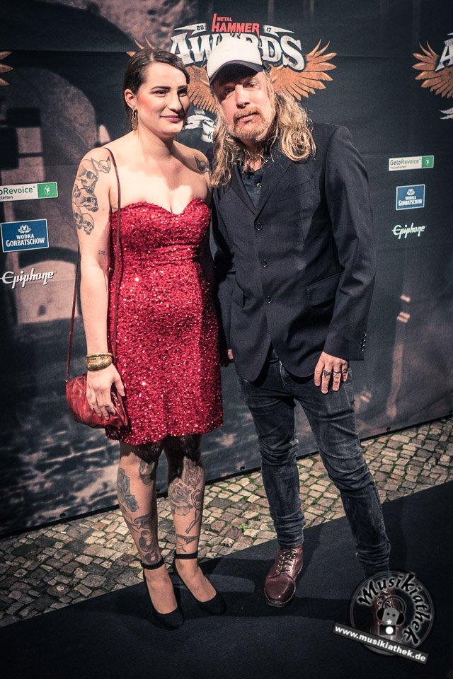 Schwarzer Teppich - Metal Hammer Awards - 15.09.2017-31