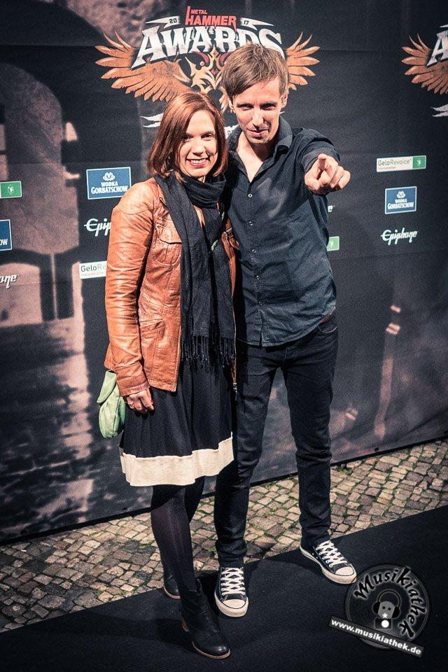 Schwarzer Teppich - Metal Hammer Awards - 15.09.2017-33