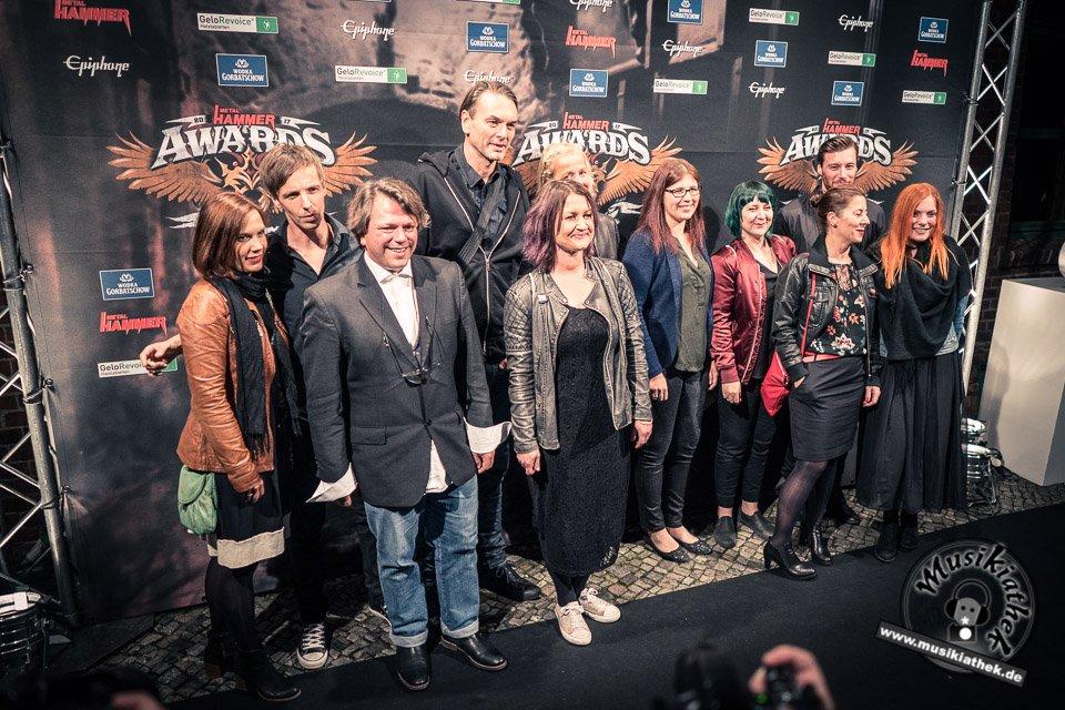 Schwarzer Teppich - Metal Hammer Awards - 15.09.2017-34
