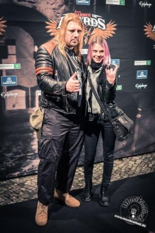 Schwarzer Teppich - Metal Hammer Awards - 15.09.2017-36
