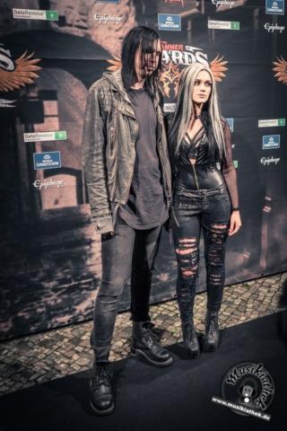 Schwarzer Teppich - Metal Hammer Awards - 15.09.2017-41