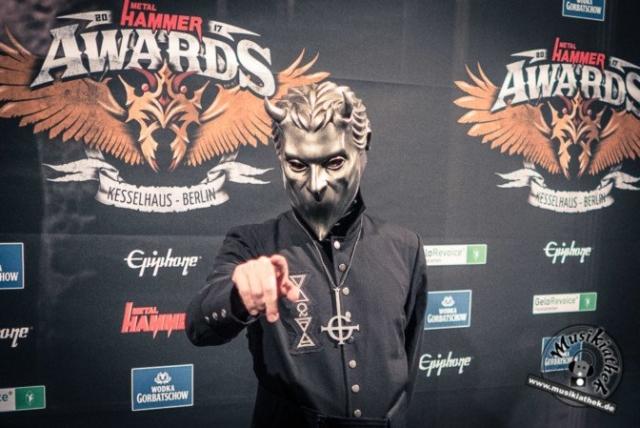 Schwarzer Teppich - Metal Hammer Awards - 15.09.2017-42