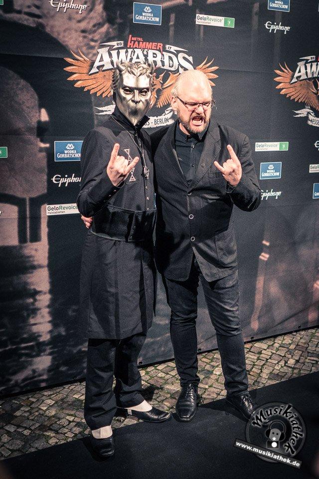 Schwarzer Teppich - Metal Hammer Awards - 15.09.2017-43