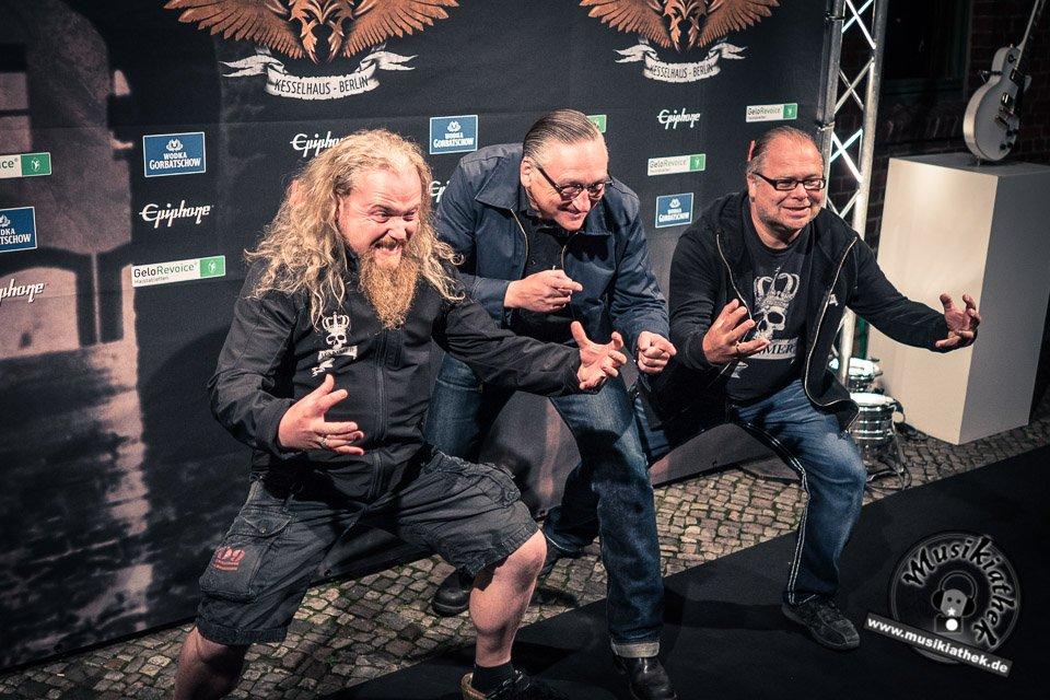 Schwarzer Teppich - Metal Hammer Awards - 15.09.2017-9