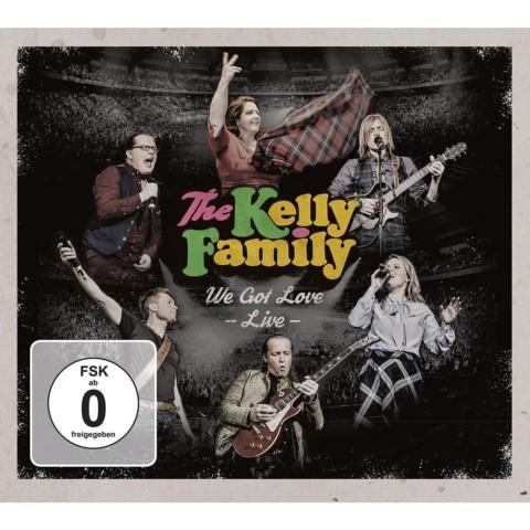 """Die Kelly Family veröffentlicht """"Please Don't Go"""" – ein Livevideo aus """"We Got Love – Live"""" CD/DVD"""