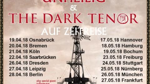 UNHEILIG & THE DARK TENOR – ab April auf Zeitreise Tour