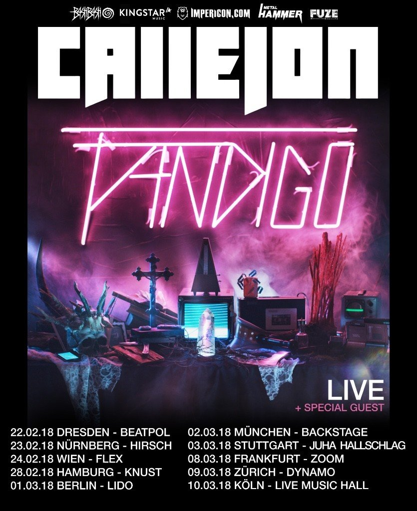 CALLEJON - Headline-Tour im Frühjahr 2018