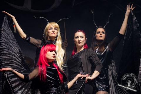 """Blutengel """"Live im Wasserschloss Klaffenbach"""" ab dem 27.04.2018"""