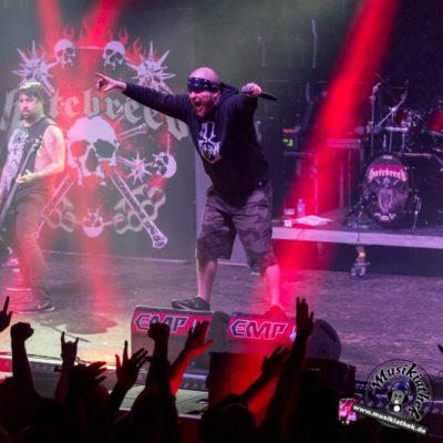 Hatebreed - Turbinenhalle Oberhausen - 27. Januar 2018 - 55Musikiathek midRes