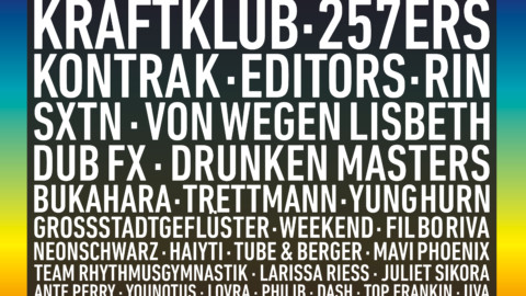 Juicy Beats Festival 2018: Kraftklub und weitere Acts bestätigt