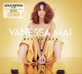 """Vanessa Mai Gold Edition Cover web Aussand - Vanessa Mai – die """"Regenbogen Gold Edition"""" des #1-Albums erscheint am 12.01.18"""