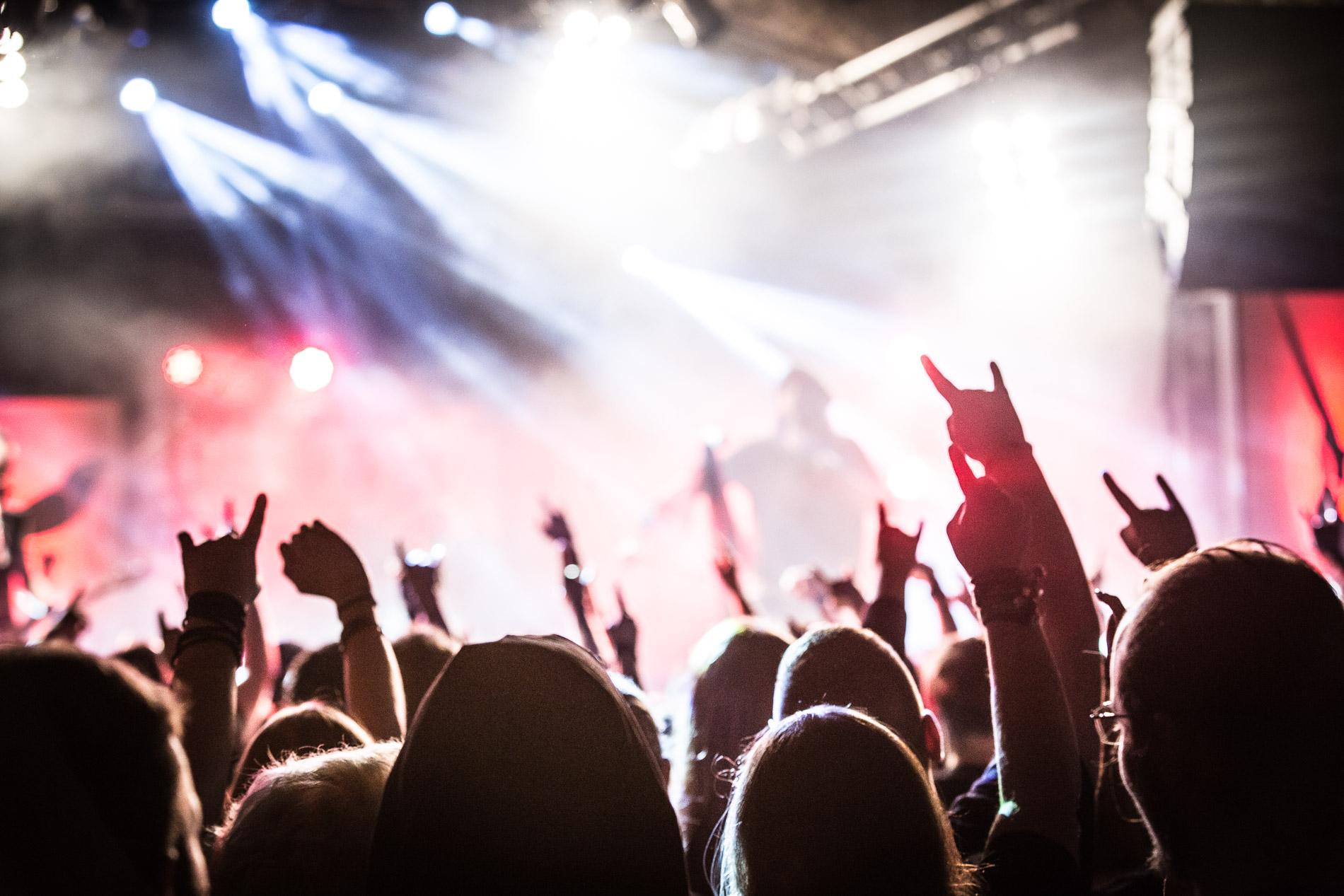 musica crowd 8 - Live: Beartooth  - Huxleys Neue Welt, Berlin  - 05.03.2020