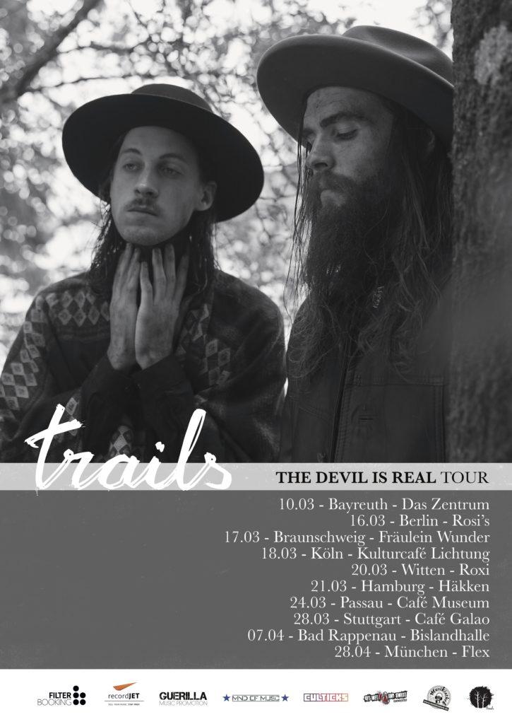 Die Musikiathek präsentiert: Trails – The Devil Is Real Tour 2018