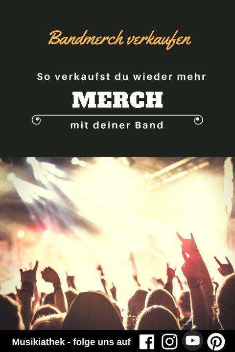 Merch Verkauf als Band – mit diesen Tipps verkaufst du mehr Merchandising Produkte
