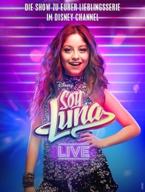 SOY LUNA – Die Konzerttour zu eurer Lieblingsserie im Disney Channel