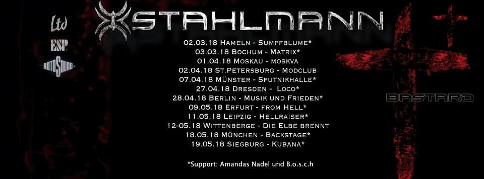Live/Fotos: Stahlmann (Support: b.o.s.c.h. & Amandas Nadel) - Matrix Bochum - 03.03.2018