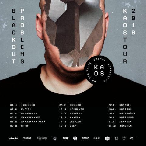 """Die Blackout Problems veröffentlichten am 15.06.18 ihr neues Album """"KAOS"""""""