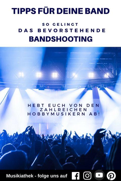 Bandshooting Ideen: Mit diesen 7 Tipps gelingt das Bandshooting – professionelle Promofotos von eurer Band!